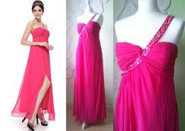 suknia sukienka wieczorowa koktajlowa druhna 42 XL