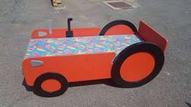 Toddlers Car Bed with Mattress