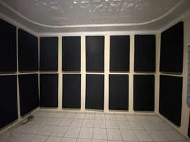 Acoustic panels for studios and venues / churches / sound proofing