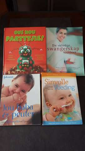 Books Baby& party books Afrikaans brandnew R165 each