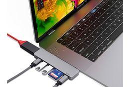 Переходник Wiwu T8 USB-C/HDMI/SD концентратор адаптер MacBook Pro