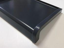 Parapety stalowe zewnętrzne softline grafit