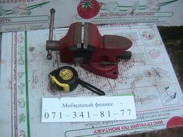 Тиски( тиса)поворотные-80 мм..