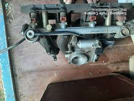 W202 c200 intake with trottle body and injectors