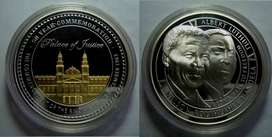 Mandela/Luthuli 50th Anniversary of the Rivonia Trial - 1oz Silver Med