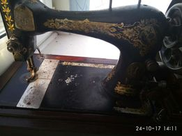 Машинка швейная старинная сингер