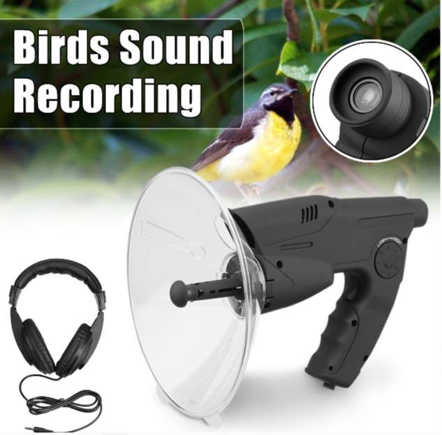 Pro Sound Amplifier Nature Observing Recording & Play Back Dish