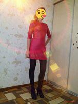 Эффектное красное платье!