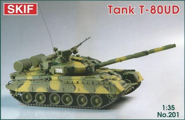 """Сборная модель SKIF Танк Т-80 """"Береза"""" (МК201) Киев - изображение 1"""