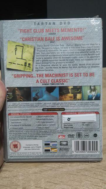 """The Machinist""/PL- ""Mechanik"" film DVD, NOWY w folii, lektor ang. Sosnowiec - image 2"