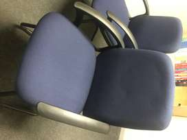 Visitor chairs - R 550 each