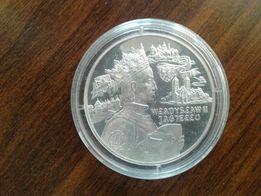 Srerbna moneta Władysław II Jagiełło 600. rocznica Bitwy pod Grunwald