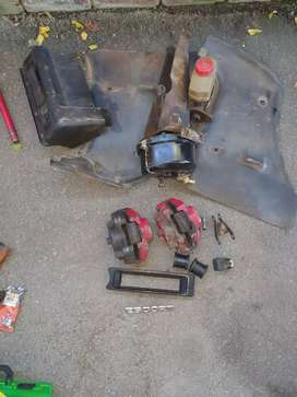 Ford escort brake calipers,master cylinder and brake booster