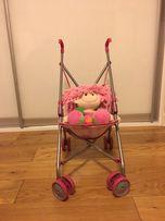 Wózek dla lalek spacerowy parasolka
