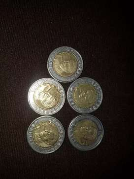 Nelson Mandela 5 rand for sell