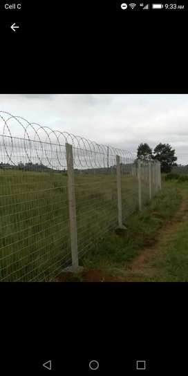 WE DO ALL TYPES OF FENCING