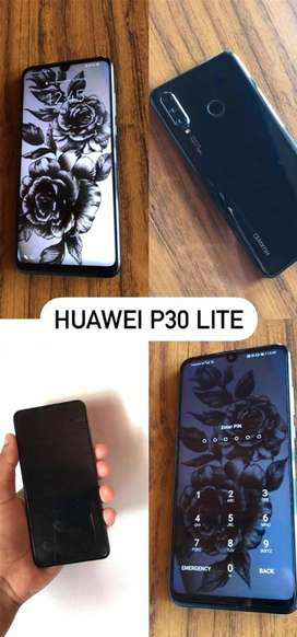 Huawei P30 Lite, takes 1 simcard, 8 months old.