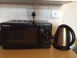 Microwave & Kettle Combo