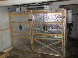 Самодельный инкубатор профессионально типа на 7200 кур. яйца.