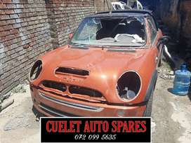 Mini Cooper Convertible S stripping for parts