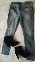 Nowe spodnie jeansy c&a