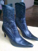 обувь женская полусапожки итальянские