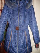 Продам женскую зимнюю куртку 54 размер
