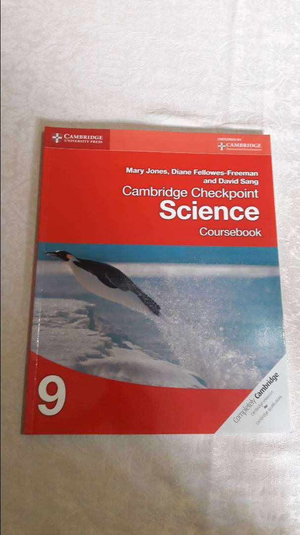 Cambridge Checkpoint Science Course book 9 by Mary Jones 0