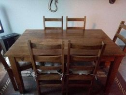 sprzedam stół z drzewa akacjowego