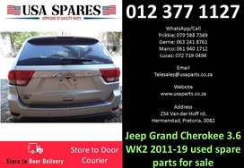 Jeep Grand Cherokee 3.6 WK2* 2011-19 used spare parts for sale