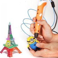 Акция-10%!3Д ручка+150метров пластика!Творчество для детей и родителей