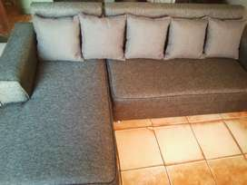 Brand new grey Lshape couch on sale for R2999