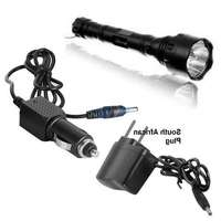 Image of Digital Kree Hign PowerLED Torch - Rechargable + CAR & HOME CHARGER