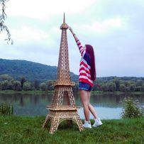 Продам ейфелева вежа для фотозони эйфелева башня деревянная большая