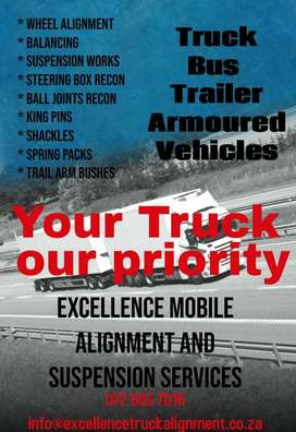 Excellence Mobile Alignment and Suspension Services
