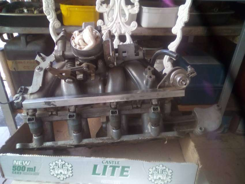 Airflow Manifold with fuel injector rail for Opel Astra 1.6 0
