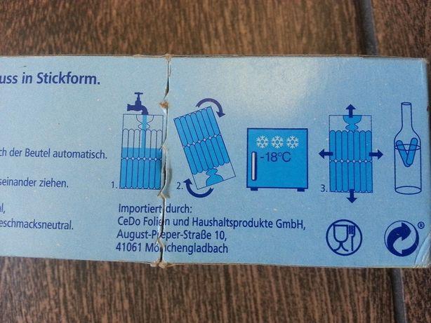 Самозакрывающиеся пакетики для заморозки продолговатого льда Германия Черкассы - изображение 6