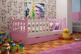 Pojedyncze łóżko dla dzieci z szufladami Kinder ! Dostawa Darmowa !