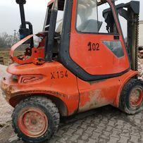 wózek widłowy linde H45T waga 6650 udźwig 4500 sprzedam most napęd prz