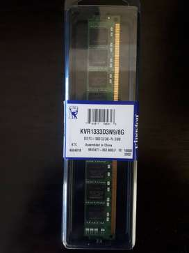 8GB DDR3 @1333mhz RAM Brand New