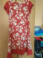 Czewona kobieca sukienka