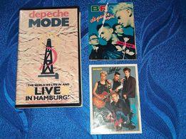 Koncert Depeche Mode live in hamburg na VHS