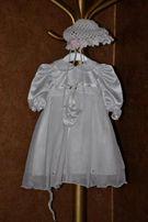 sukieneczka do chrztu dziewczynka 6 miesięcy