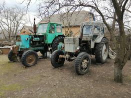 Трактор ЮМЗ-6А, т-40, Плуг прицеп