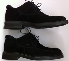 Туфли ботинки мужские замша