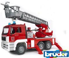 Пожарная Man Bruder (Брудер) 02771