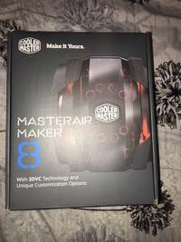 Image of Cooler master air maker 8 CPU cooler brand new