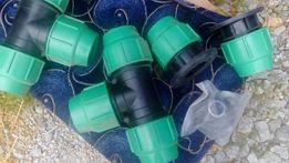 Фитинги для водоснабжения 110 диаметра новые