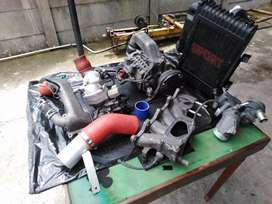 Toyota 4AGZE SUPERCHARGER KIT