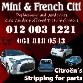 USED MINI PEUGEOT CITROEN SPARE PARTS